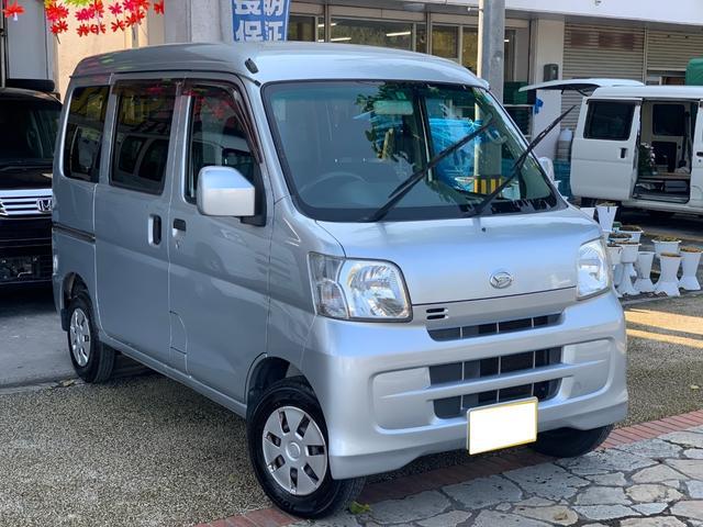 沖縄県の中古車ならハイゼットカーゴ クルーズ ハイルーフ 4速AT 電動格納ミラー 本土無事故車