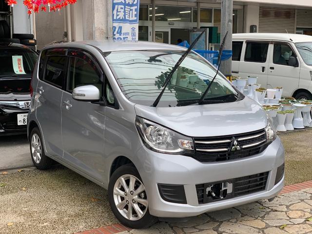 沖縄県の中古車ならeKワゴン Gセーフティパッケージ ナビTVブルートゥース バックカメラ