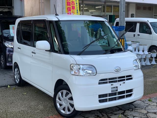 沖縄県の中古車ならタント Lアイドリングストップ ナビ ブルートゥース 本土無事故車
