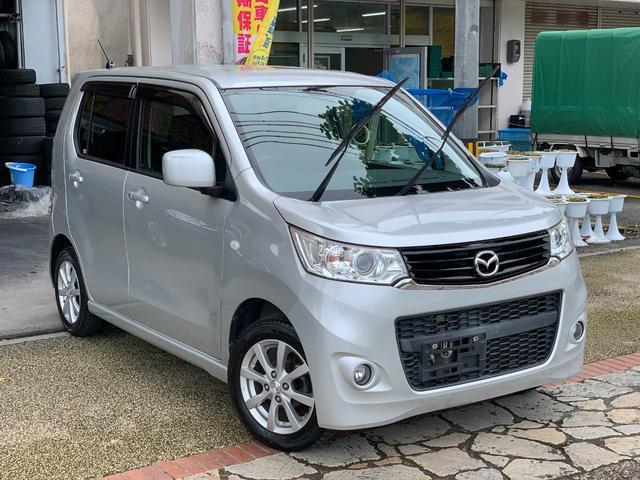 沖縄県の中古車ならフレアカスタムスタイル XS プッシュスタート ナビ TV バックカメラ 本土中古車