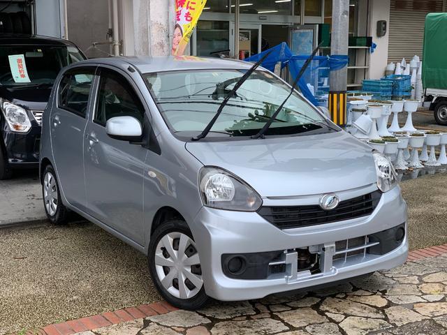 沖縄県の中古車ならミライース Lアイドリングストップ ナビ フルセグTV ブルートゥース