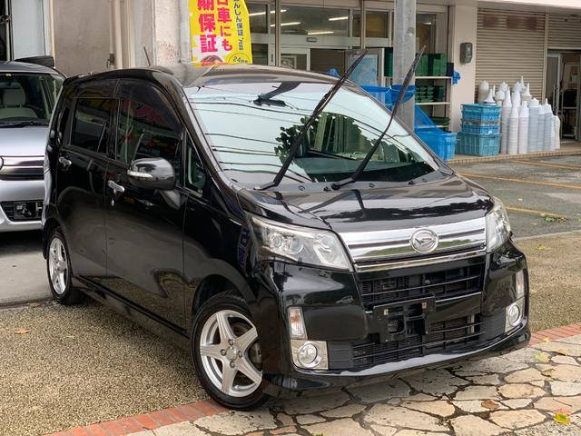 沖縄県の中古車ならムーヴ カスタムRSナビTVブルートゥースバックカメラ 本土無事故車