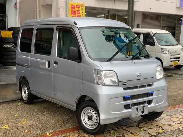 沖縄県の中古車ならハイゼットカーゴ DXフル装備 4速AT バックカメラ ドラレコ 本土無事故車