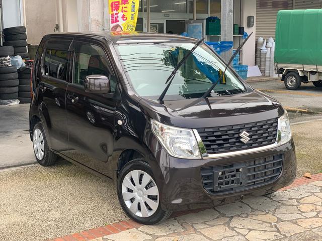 沖縄県中頭郡北中城村の中古車ならワゴンR FX アイドリングストップ CD AUX シートヒーター