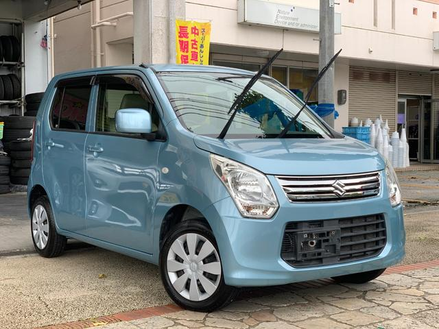 沖縄の中古車 スズキ ワゴンR 車両価格 53万円 リ済込 2012(平成24)年 3.6万km ブルー