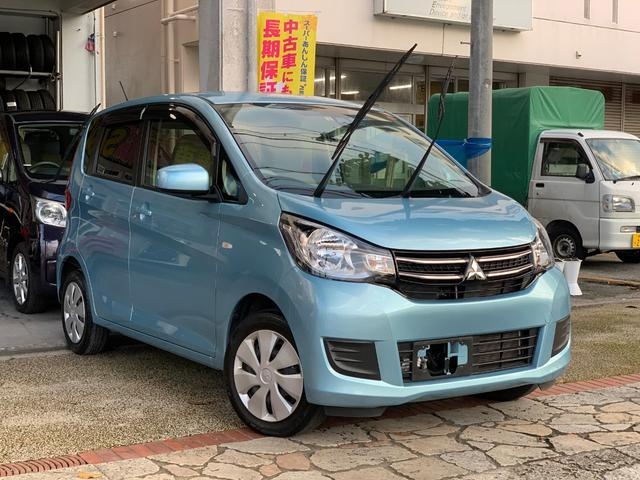 沖縄県の中古車ならeKワゴン Meアシスト ナビTV ブルートゥース ドラレコ 本土中古車