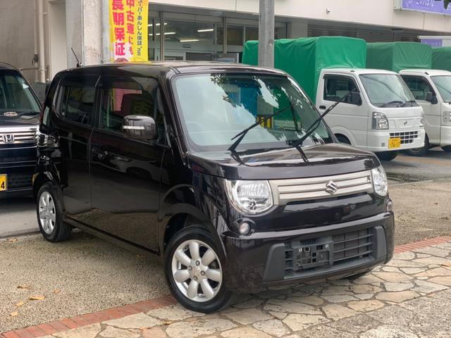 沖縄の中古車 スズキ MRワゴン 車両価格 59万円 リ済込 2013(平成25)年 4.4万km ブラウン