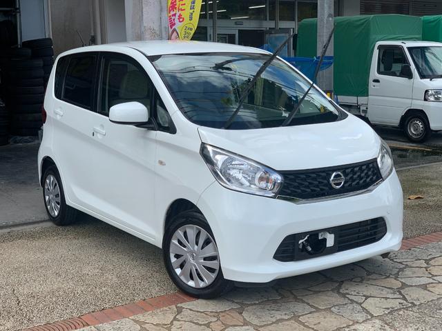 沖縄の中古車 日産 デイズ 車両価格 49万円 リ済込 2015(平成27)年 5.1万km ホワイト