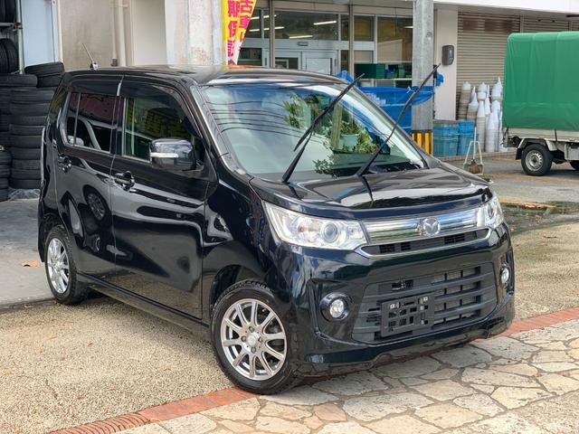 沖縄県の中古車ならフレアカスタムスタイル HS ナビ TV ブルートゥース バックカメラ 本土中古車