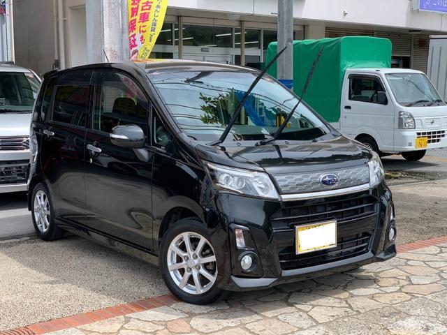沖縄県の中古車ならステラ カスタムR スマートキー プッシュスタート ナビ Bluetooth機能 バックカメラ 純正アルミ LEDヘッドライト フォグランプ 無事故車