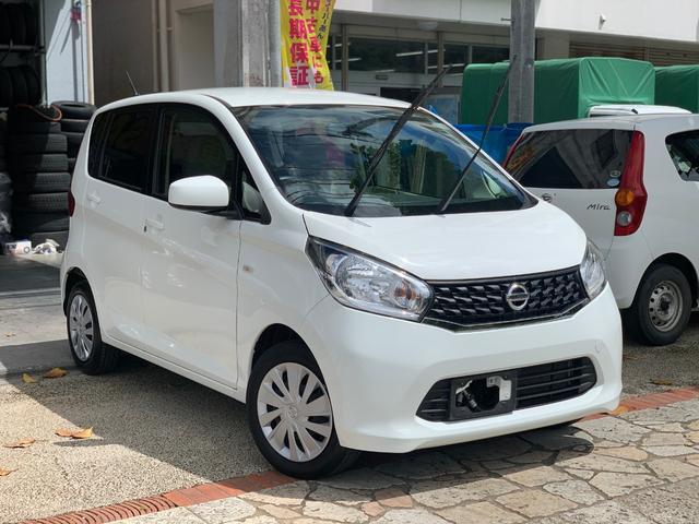 沖縄の中古車 日産 デイズ 車両価格 49万円 リ済込 2015(平成27)年 6.1万km ホワイト