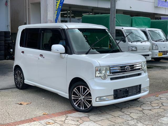 沖縄県の中古車ならムーヴコンテ カスタム X VS アイドリングストップ スマートキー キーフリー ナビ Bluetooth機能 バックカメラ 15インチアルミ 本土中古車