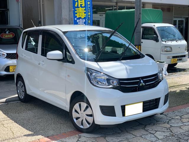 沖縄県の中古車ならeKワゴン E CDオーディオ AUX USB シートヒーター 本土中古車