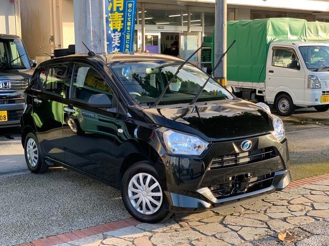沖縄県の中古車ならミライース L アイドリングストップ キーレスエントリー CDオーディオ AUX 本土中古車