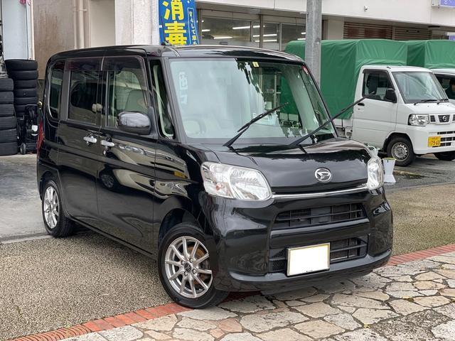 沖縄県の中古車ならタント X 電動パワースライドドア プッシュスタート アイドリングストップ ナビ Bluetooth機能 本土無事故車
