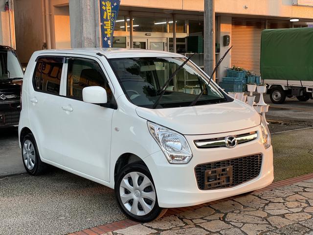 沖縄県の中古車ならフレア XG アイドリングストップ ナビ TV バックカメラ ETC フルオートエアコン 本土無事故車