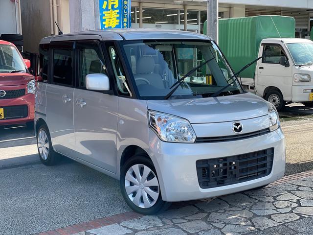 沖縄県の中古車ならフレアワゴン XS アイドリングストップ 電動スライドドア スマートキー プッシュスタート CDオーディオ USB ETC 本土中古車
