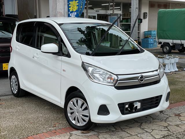 沖縄の中古車 日産 デイズ 車両価格 36万円 リ済込 2015(平成27)年 11.0万km ホワイト