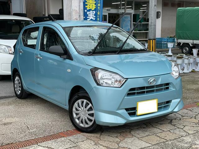 沖縄県の中古車ならミライース L アイドリングストップ 横滑り防止装置 ライトレベライザー 届出済未使用車