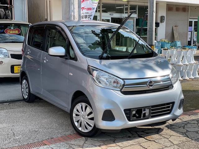 沖縄の中古車 日産 デイズ 車両価格 39万円 リ済込 2016(平成28)年 10.8万km クールシルバーM