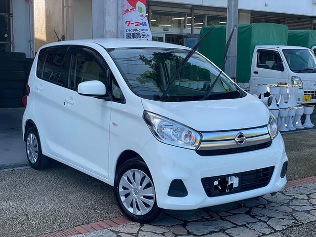 沖縄の中古車 日産 デイズ 車両価格 49万円 リ済込 2016(平成28)年 6.2万km ホワイト