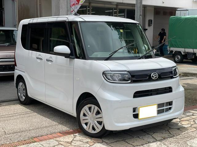 沖縄県の中古車ならタント X スマートキー プッシュスタート 電動パワースライドドア 安全装備スマートアシスト3 衝突被害軽減ブレーキ シートヒーター コーナーセンサー