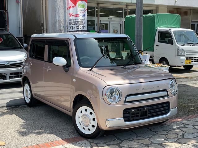 沖縄県の中古車ならアルトラパンショコラ G アイドリングストップ スマートキー プッシュスタート ナビ 地デジTV DVD Bluetooth機能 ETC 本土中古車
