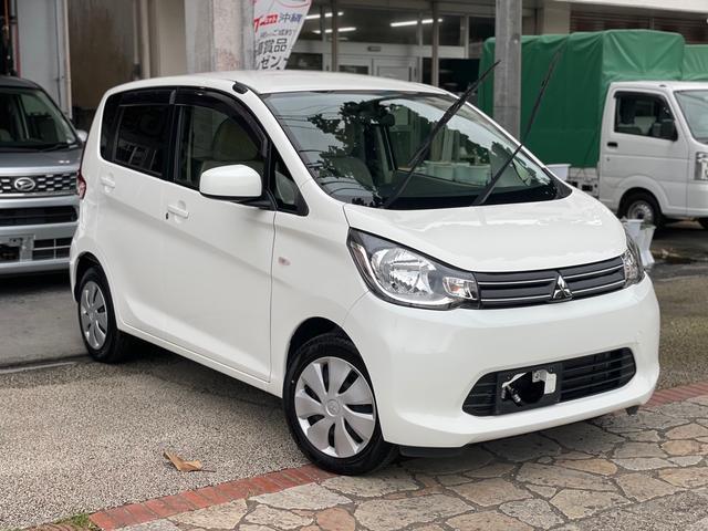 沖縄県の中古車ならeKワゴン M アイドリングストップ タッチパネルフルオートエアコン ナビ Bluetooth機能 バックカメラ ETC 本土中古車