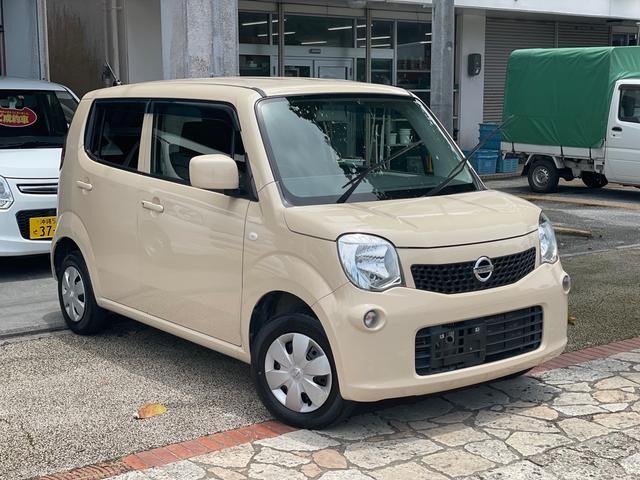 沖縄の中古車 日産 モコ 車両価格 43万円 リ済込 2014(平成26)年 8.6万km ベージュM