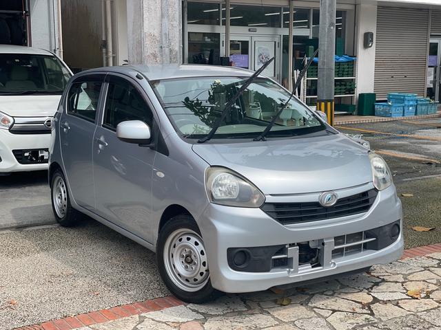 沖縄の中古車 ダイハツ ミライース 車両価格 39万円 リ済込 2014(平成26)年 3.4万km シルバー
