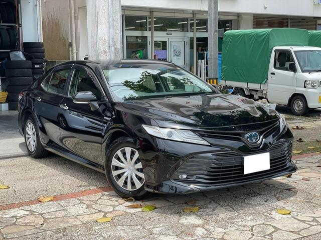 沖縄県の中古車ならカムリ X スマートキー プッシュスタート ナビ Bluetooth機能 バックカメラ ETC LEDヘッドライト 本土中古車