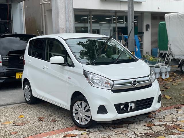 沖縄の中古車 日産 デイズ 車両価格 39万円 リ済込 2016(平成28)年 9.9万km ホワイト