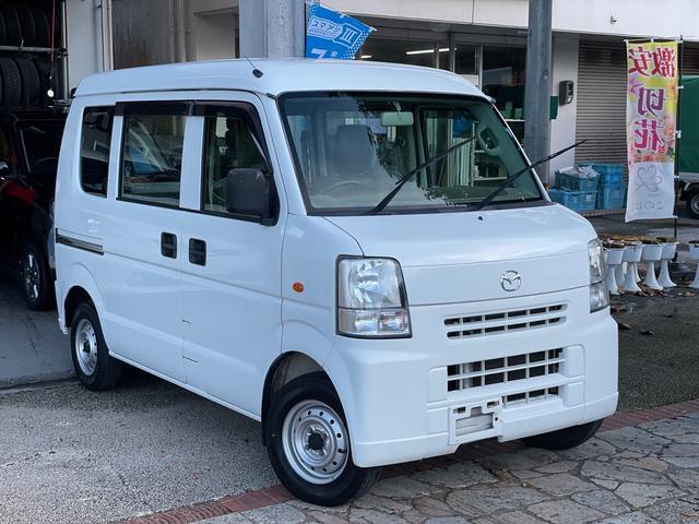 沖縄県の中古車ならスクラム PA ハイルーフ ダッシュAT エアコン パワステ 集中ドアロック 両側スライドドア 本土無事故車