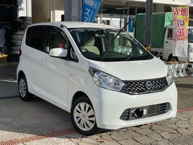 沖縄の中古車 日産 デイズ 車両価格 36万円 リ済込 2014(平成26)年 9.6万km ホワイト