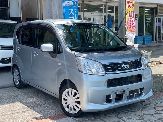沖縄の中古車 ダイハツ ムーヴ 車両価格 43万円 リ済込 2016(平成28)年 12.9万km シルバー