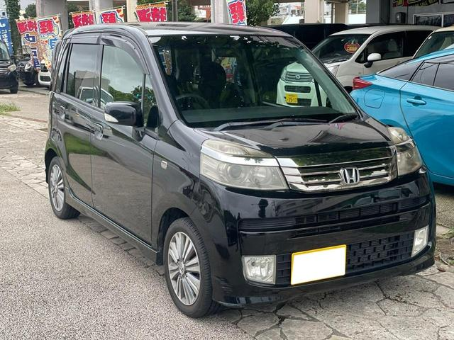 沖縄の中古車 ホンダ ライフ 車両価格 19万円 リ済込 2011(平成23)年 15.1万km ブラック
