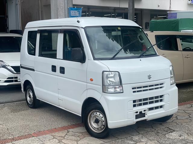 沖縄の中古車 スズキ エブリイ 車両価格 33万円 リ済込 2014(平成26)年 10.7万km ホワイト