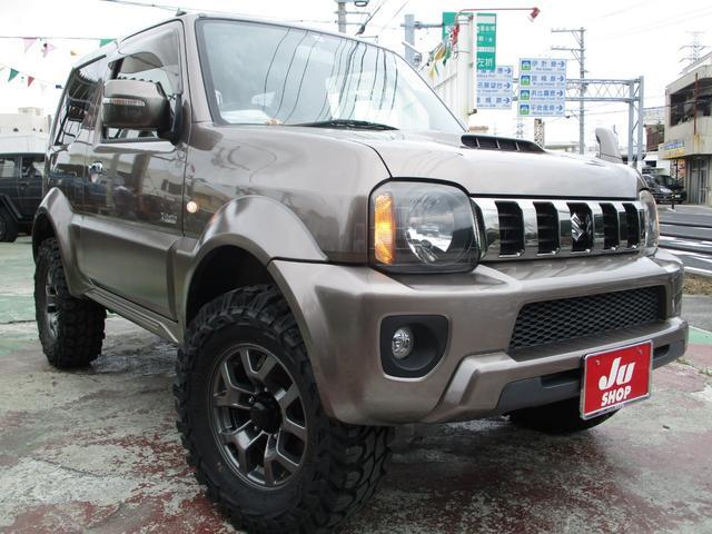 沖縄県の中古車ならジムニーシエラ クロスアドベンチャー 本土中古・評価4・アピオ2.5インチアップキット・選べるホイール・でっかいタイヤ
