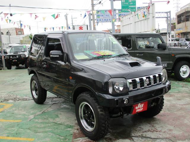 沖縄県の中古車ならジムニー クロスアドベンチャーXC 社外アルミ・新品MTタイヤ・ナビテレビ