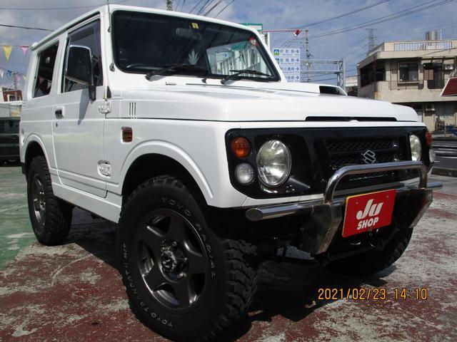 沖縄県の中古車ならジムニー HA HA(4名)ブラッドレイアルミ・MTタイヤ・ナビ・オーディオボード