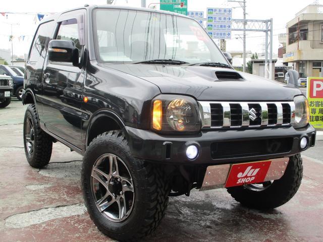 沖縄県の中古車ならジムニー クロスアドベンチャーXC 25アニバーサリー・本土中古・修復なし・ナビテレビ・ETC連動