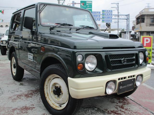 沖縄県の中古車ならジムニー XLリミテッド サンマルホイール・専用レザータイプシートカバー・ウッドハンドル