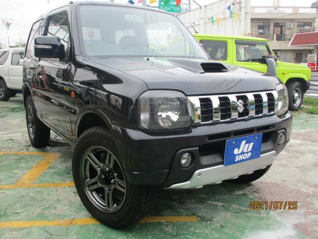 沖縄の中古車 スズキ ジムニー 車両価格 95万円 リ済込 2011(平成23)年 7.0万km DブラックM