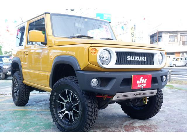 沖縄の中古車 スズキ ジムニー 車両価格 200万円 リ済込 2020(令和2)年 0.4万km イエローM