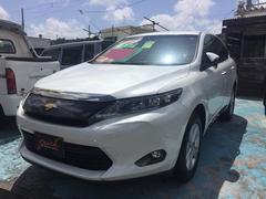 沖縄の中古車 トヨタ ハリアー 車両価格 259万円 リ済込 平成27年 2.2万K パール