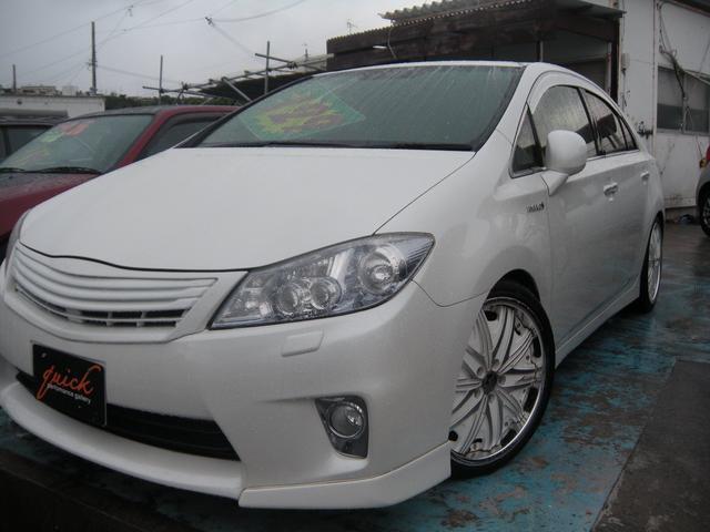 沖縄の中古車 トヨタ SAI 車両価格 109万円 リ済込 2012(平成24)後 8.3万km パール