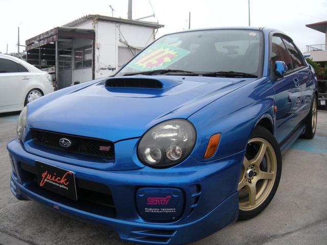 沖縄県の中古車ならインプレッサ WRX STiリミテッド