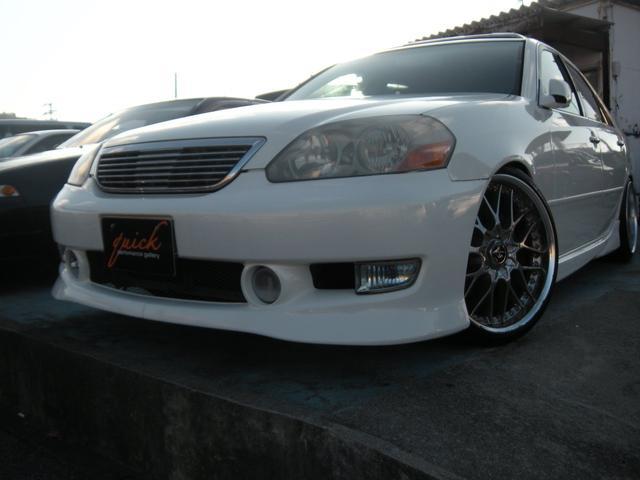 沖縄県の中古車ならマークII グランデiR-V 純正5速 サンルーフ Fcon-Vpro