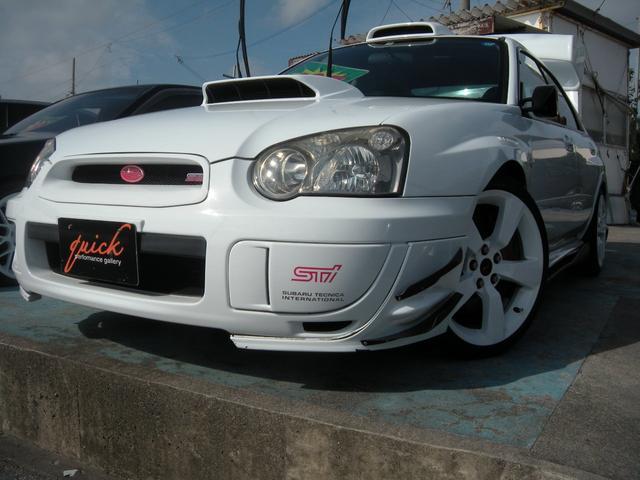 沖縄の中古車 スバル インプレッサ 車両価格 125万円 リ済込 2003(平成15)年 13.0万km ホワイト