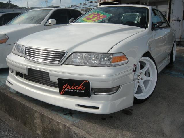 沖縄の中古車 トヨタ マークII 車両価格 139万円 リ済込 1997(平成9)年 20.0万km パールM